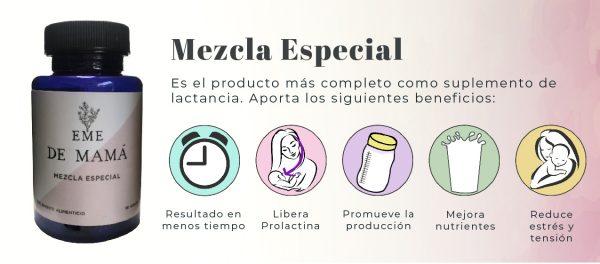 Beneficios Mezcla Especial